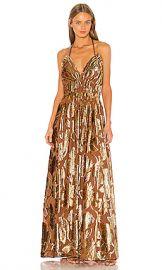 Ulla Johnson Gia Dress in Rose Gold from Revolve com at Revolve