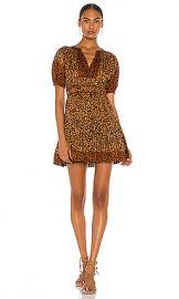 Ulla Johnson Mariana Mini Dress in Leopard from Revolve com at Revolve