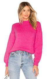 Ulla Johnson Rhea Pullover in Fuchsia from Revolve com at Revolve