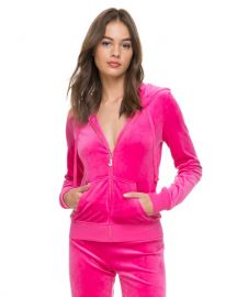 Ultra Luxe Velour Robertson Jacket by Juicy Couture at Juicy Couture