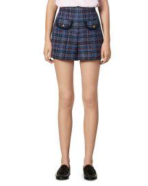 Uma Tweed Shorts by Sandro at Bloomingdales