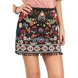 Umgee embroidered skirt at Amazon