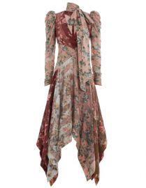 Unbridled Chevron Silk Dress at Zimmermann
