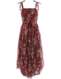 Unbridled Tie Waist Dress at Zimmermann