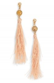 Uncommon James by Kristin Cavallari Strawberry Fields Jasper Tassel Earrings at Nordstrom