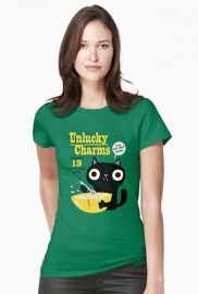 Unlucky Charms Tee at Red Bubble