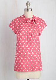 Up Up and Amaze Top in Unicorns at ModCloth