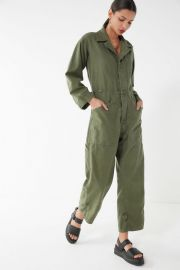 Urban Renewal Green Vintage Surplus Coverall Jumpsuit at Urban Outfitters