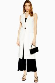 Utility Sleeveless Duster Coat at Topshop