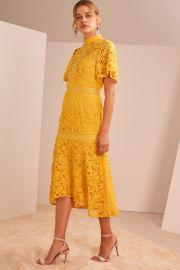 Utopia Lace Dress by Keepsake at Fashion Bunker