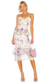 V  Chapman Daffodil Dress in Floral Printe from Revolve com at Revolve
