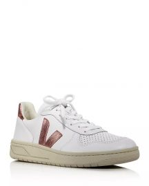 V-10 Leather Low-Top Sneakers at Bloomingdales