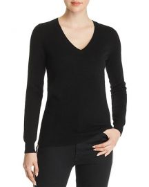V-Neck Cashmere Sweater at Bloomingdales