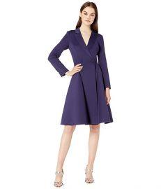 V-Neck Long Sleeve Coat Dress at Zappos