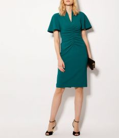 V-Neck Pencil Dress by Karen Millen at Karen Millen