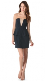 V Peplum dress by Zimmerman at Shopbop