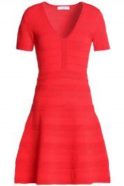 V-neck ribbed-knit dress at Selfridges