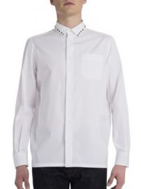 VALENTINO - Rockstud Cotton Shirt at Saks Fifth Avenue