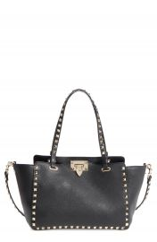 VALENTINO GARAVANI Rockstud Leather Tote at Nordstrom