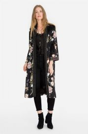 VELVET MIX KIMONO at Johnny Was