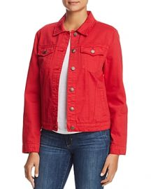 VELVET HEART DENIM JACKET at Bloomingdales