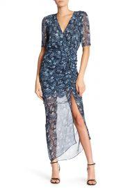 VERONICA BEARD   Mariposa Printed Silk Dress   Nordstrom Rack at Nordstrom Rack