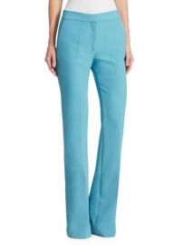 VICTORIA VICTORIA BECKHAM - TRIPLE-STITCH FLARED PANTS at Saks Fifth Avenue