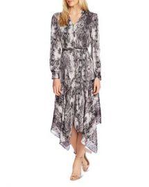 VINCE CAMUTO Snakeskin Print Midi Dress - 100  Exclusive Women - Bloomingdale s at Bloomingdales