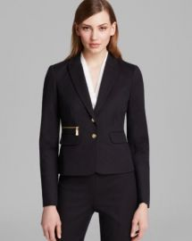 VINCE CAMUTO Two Button Blazer at Bloomingdales
