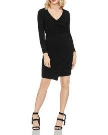 VINCE CAMUTO Wrap Front Dress Women - Bloomingdale s at Bloomingdales