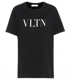VLTN cotton T-shirt at Mytheresa