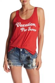 Vacation Por Favor Tank at Nordstrom Rack