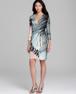 Valencia wrap dress by DvF at Bloomingdales