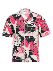 Valentino - Tropical Cotton Shirt at Saks Fifth Avenue