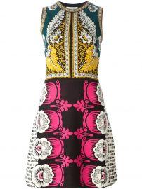 Valentino Foulard Printed A-line Dress at Farfetch