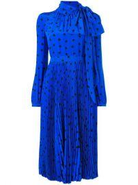 Valentino Heart Print Midi Dress - Farfetch at Farfetch