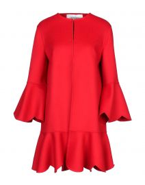Valentino Red Coat at Yoox