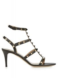 Valentino Rockstud leather sandals at Matches
