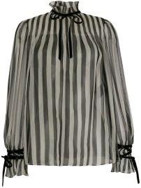 Valentino Striped Shirt - Farfetch at Farfetch