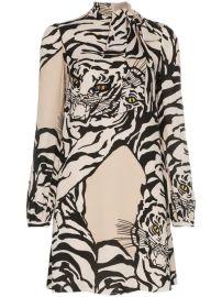 Valentino Tiger Print Dress - Farfetch at Farfetch