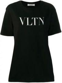 Valentino VLTN Logo T-shirt - Farfetch at Farfetch