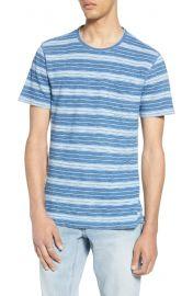 Variegated Stripe Pocket T-Shirt at Nordstrom