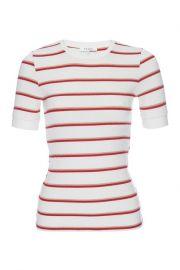 Variegated Stripe Ribbed T-Shirt at Nordstrom Rack