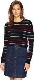 Variety Stripe Cashmere Shirley Sweater at Amazon