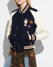 Varsity Jacket at Coach