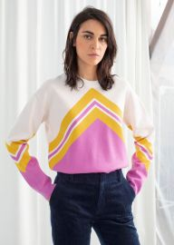 Varsity Knit Sweater at & Other Stories