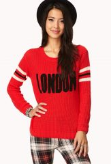 Varsity London Sweater at Forever 21