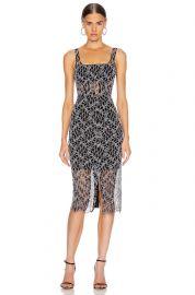 Vein Lace Corset Dress at Forward