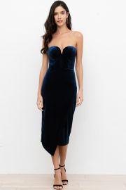 Velvet Allure Dress at Yumi Kim