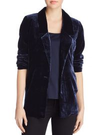 Velvet Blazer at Bloomingdales